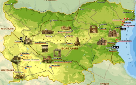 Болгария упростит правила получения виз для россиян